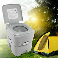 20L Mobil WC Tragbare Campingtoilette Chemietoilette Toiletteneimer Reise WC
