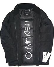 CALVIN KLEIN Men's Double Zip Puffer Jacket [CM 908951],Size: Small.