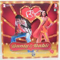 Bunty Aur Babli LP Record Bollywood Hindi Limited Adition Rare Vinyl Indian Mint