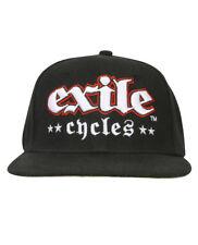 Exile Cycles Russel montar mercadería oficial Gorra de béisbol Custom Motorcycle
