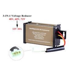 Golf Cart Dc Converter 48v 48 Volt 60v 72v Voltage Reducer Regulator To 12v 10a