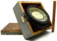 """Vintage Us Navy Mark Ii 6-3/4"""" Card Compass by Lionel Corp Nautical Wwii c.1942"""