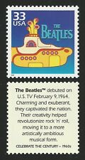 THE BEATLES 50th Anniversary YELLOW SUBMARINE US Movie Film Stamp MINT CONDITION