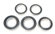 Pack of 5 6801 61801 12x21x5mm 2RS Thin Section Deep Groove Ball Bearing