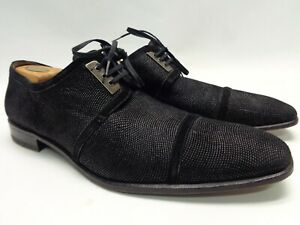 MEZLAN SUEDE OXFORDS BLACK 14M MADE IN SPAIN