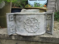 Antique Lead Drain Hopper Victorian Flower Planter Tub Architectural Salvage Old