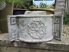 Antique Lead Drain Hopper Victorian Flower Planter Tub Architectural Salvage Old