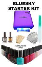 Bluesky Starter Kit 36w UV Purple Lamp Top&base Choose 3 Gels Receive GEL