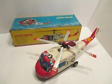 ASTRONAUT RECOVERY HELICOPTER EXCELLENT CONDITION WITH BOX BATTERY OP WORKS GOOD