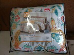 Intelligent Design Twin XL Comforter Set In Multi Finish ID10-727