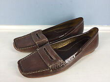 Cole haan Brown Leather Loafer Driving Moc Excellent Career Casual 6 M