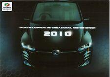 Perodua Bezza concept & car Range (made en Malasia) _ 2010 folleto/brochure
