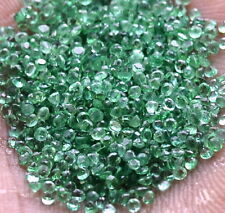 Natural Emerald Round Cut Upto 1.50 mm Lot 250 Pcs 4.28 Cts Untreated Gemstones
