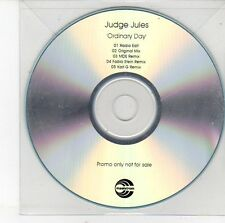 (EH251) Judge Jules, Ordinary Day - DJ CD