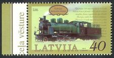Latvia 2010 Trains/Steam Engine/Locomotive/Rail/Transport/Railways 1v (n29351)