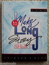1995 ABRAHAM LINCOLN HIGH SCHOOL YEARBOOK, COUNCIL BLUFFS, IOWA -- UNMARKED!