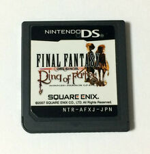 USED Nintendo DS Final Fantasy Crystal Chronicles Ring of Fates JAPAN Soft Only