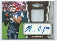 2010 Topps Unrivaled Marcus Easley PRIME PATCH RELIC AUTO RC 338/349 BILLS