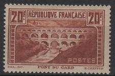 "FRANCE STAMP TIMBRE N° 262 "" PONT GARD 20F CHAUDRON TYPE IIB "" NEUF xx TTB  M441"