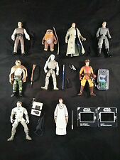 Star Wars Hasbro Lot of 9 figures 1997-1999 Skywalker Solo Wicket Trooper