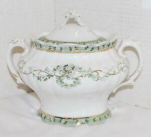 Wedgwood Ideal Sugar Bowl Semi Royal Porcelain Made in England EUC