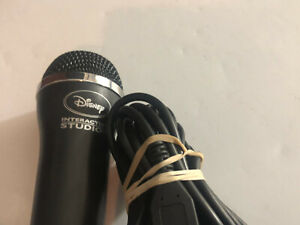 Disney Studios Wired USB Microphone  Xbox 360 PS3 PS4 Wii Electronic E-UR20 Mic