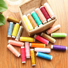 39/Lot Mixed Colors Polyester Spool Sewing Thread Quilting For Hand Machine