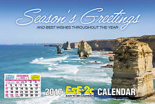 2019 Easy to See A4 Wall Calendar Big Print - Allen's Ese-2c 4267