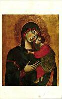 Vintage Postcard - Madonna and Child - Art Museum Princeton University #1529