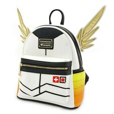 Official Loungefly x Overwatch Mercy Mini Backpack New