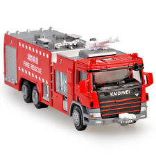 1/50 Scale Diecast Fire Engine Rescue Trucks Alloy Vehicle Model Toys Gift box