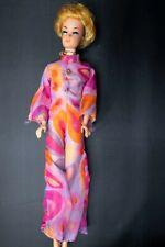 Vintage 1962 Mattel Midge Barbie Blonde Hair Blue Eyes Straight Leg Wig