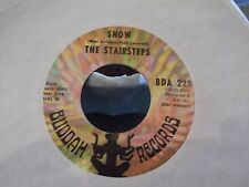 45} THE STAIRSTEPS SNOW / LOOK OUT ON BUDDAH RECORDS EX COPY