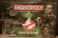 2016 USAOPOLY Monopoly Brand Hasbro Ghostbusters Edition New Factory Sealed