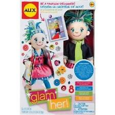Alex Toys Glam Her! Cloth Fashion Doll  With 8 Outfits You Can Design