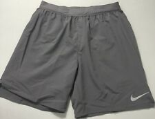 """Nike Men's Flex Stride 7"""" Brief Lined Running Shorts AT4014 Gray 056 Size M"""