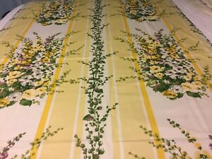 """Designer Custom Made Drapes TWO Top Pole Panels Each Lined 48"""" x 74"""""""