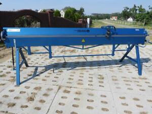 Abkantbank ZGR 3140/0.8mm Kantbank Biegemaschine Hersteller Garanie Rollenschere