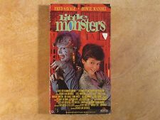 LITTLE MONTERS HOWIE MANDEL FRED SAVAGE VHS RARE! 1ST EDITION 1989 MGM/UA