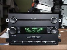 Ford Fusion Mercury Milan 2008 2009 6-disc CD MP3 player 3-plugs sys. see VIDEO
