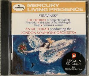 Stravinsky The Firebird - Antal Dorati - LSO CONDITION VG EBO5