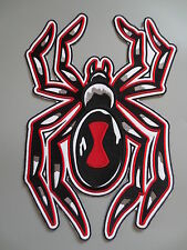 13'' inches Large Embroidery Patches for Jacket back Red Spider