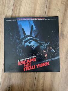 Original Soundtrack / John Carpenter - Escape from New York (Gatefold Sleeve)...
