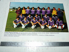 CLIPPING POSTER FOOTBALL 1988-1989 ISTRES SPORTS
