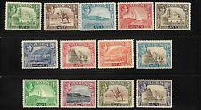 ADEN - 1939 - GVI - SET OF 13 - MM - SG 16-27 - CAT £120