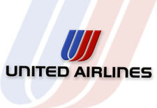 United Airlines (Tulip) Logo Fridge Handmade Collectibles Magnet  (LM14094)