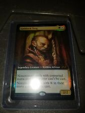 Ultimate Masters Gaddock Teeg Legendary Creature UMA  box topper foil mtg