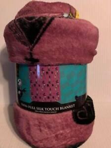 Nightmare Before Christmas Twin sized Blanket Plush Fleece Throw
