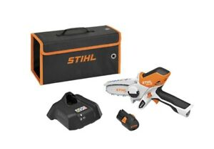 STIHL GTA 26 Handheld Electric Chainsaw Pruner w/ Carry Case, Charger, Battery