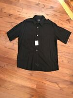 NWT BC Ethic Smooth Custom Fit Short Sleeve Black  Size XL Shirt